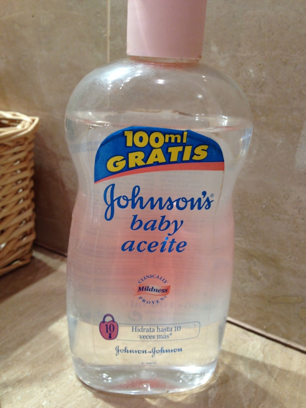 Aceite Johnson´s